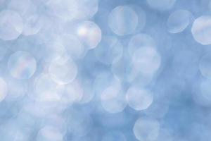facula sfocata blu astratta foto