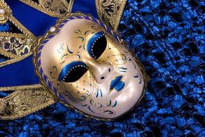 maschera veneziana. foto