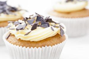 cupcake alla vaniglia foto