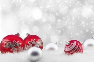 astratto sfondo di Natale foto