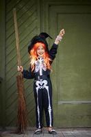 strega di Halloween foto