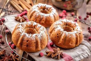 muffin di natale foto