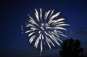 fuochi d'artificio e ombre