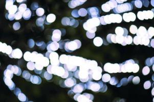 sfondo astratto con bokeh luci sfocati