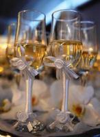 bicchieri di champagne foto