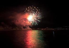 fuochi d'artificio foto