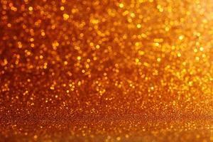sfondo astratto, luci sfocate gialle