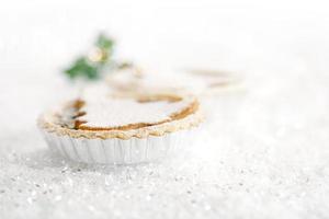 torta di Natale con albero di marzapane