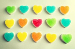 gelatina di cuore foto