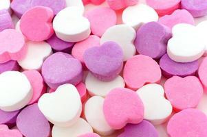 San Valentino sfondo di caramelle