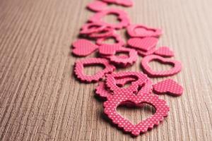 simbolo del cuore rosso foto