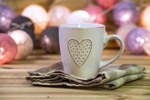 tazza con cuore foto
