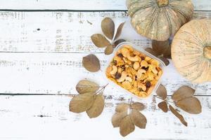 autunno e il giorno del ringraziamento sfondo