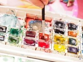 colori ad acqua foto