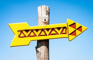 segno di freccia