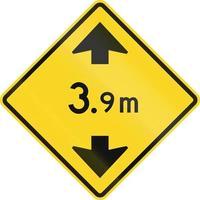 limite di altezza avanti in Canada