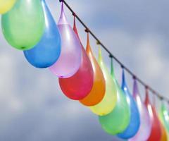 palloncini d'acqua