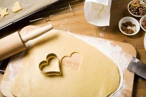 cuocere i biscotti di natale