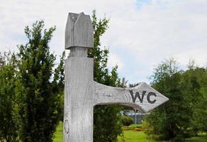 segno del wc wc foto