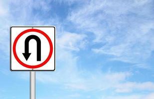 tornare indietro cartello stradale