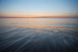 atmosfera tranquilla in mare foto