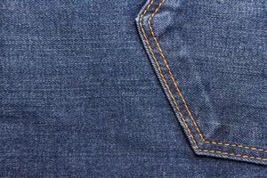 trama di blue jeans foto