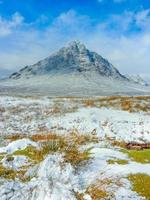 Highlands scozzesi scenico a buachaille etive mor, glencoe, scozzese