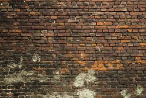 vecchio muro di mattoni texture