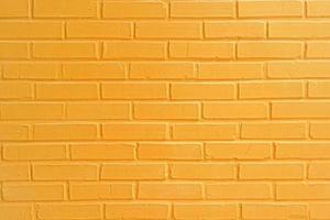 struttura del muro di mattoni gialli