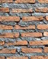muro di mattoni con texture di sfondo foto