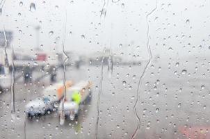 gocce di pioggia foto