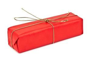 regalo di compleanno rosso foto