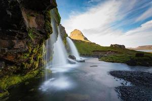 montagna kirkjufell, islanda, paesaggio della penisola di snaefellsnes