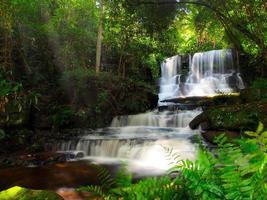 cascata Mundang, Petchaboon, Thailandia