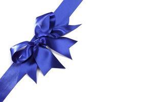 fiocco blu foto