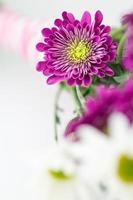 bouquet da sposa legato a mano.