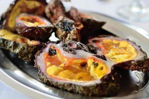 crostacei freschi dei mari greci. foto
