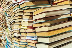 vecchio sfondo di libri