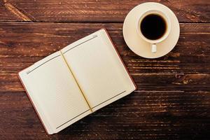 caffè e libro