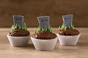 cupcakes di halloween rip foto