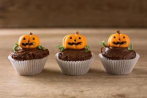 cupcakes di halloween foto