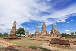 wat chaiwatthanaram, ayutthaya, thailandia