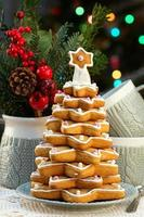 albero di natale di pan di zenzero