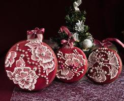 pan di zenzero natalizio foto