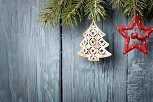decorazioni natalizie in alto a destra