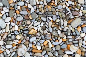 sfondo di pietre di mare foto
