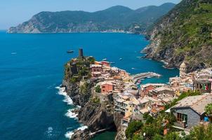 vernazza cinque terre italia foto
