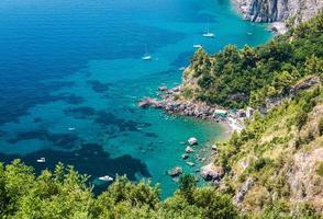via nastro azzurro, costiera amalfitana foto