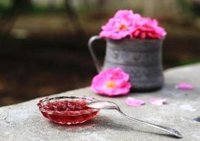 marmellata di rose foto