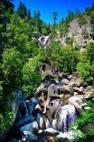 cascade falls, parco nazionale di yosemite